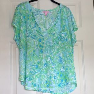 Lilly Pulitzer t-shirt size large